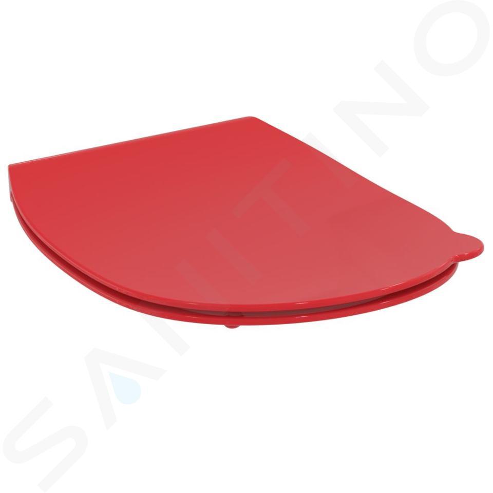 Ideal Standard Contour 21 - WC-zitting voor kinderen, rood S4536GQ