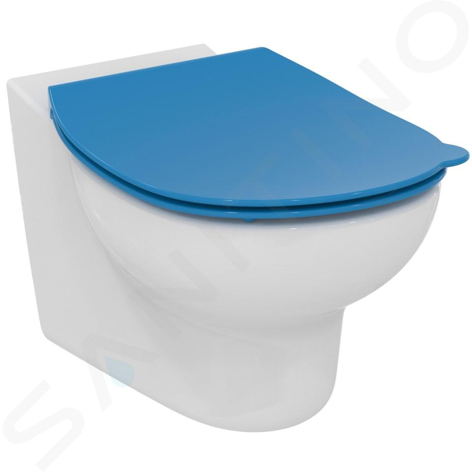 Ideal Standard Contour 21 - WC-zitting voor kinderen, blauw S453636