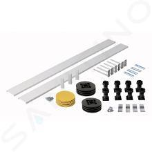 Ideal Standard Simplicity Stone - Podpora a čelní panel ke čtvrtkruhové vaničce, univerzální, bílá L631001