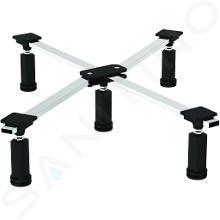 Ideal Standard Strada - Nohy k sprchovej vaničke (pri obmurovaní a obklad), chróm/čierna K712667