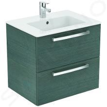 Ideal Standard Tempo - Meuble sous lavabo 600x440x550 mm, chêne gris sablé E3240SG