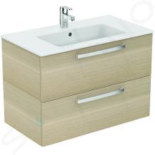 Ideal Standard Tempo - Meuble sous lavabo 800x440x550 mm, chêne cérusé E3242OS