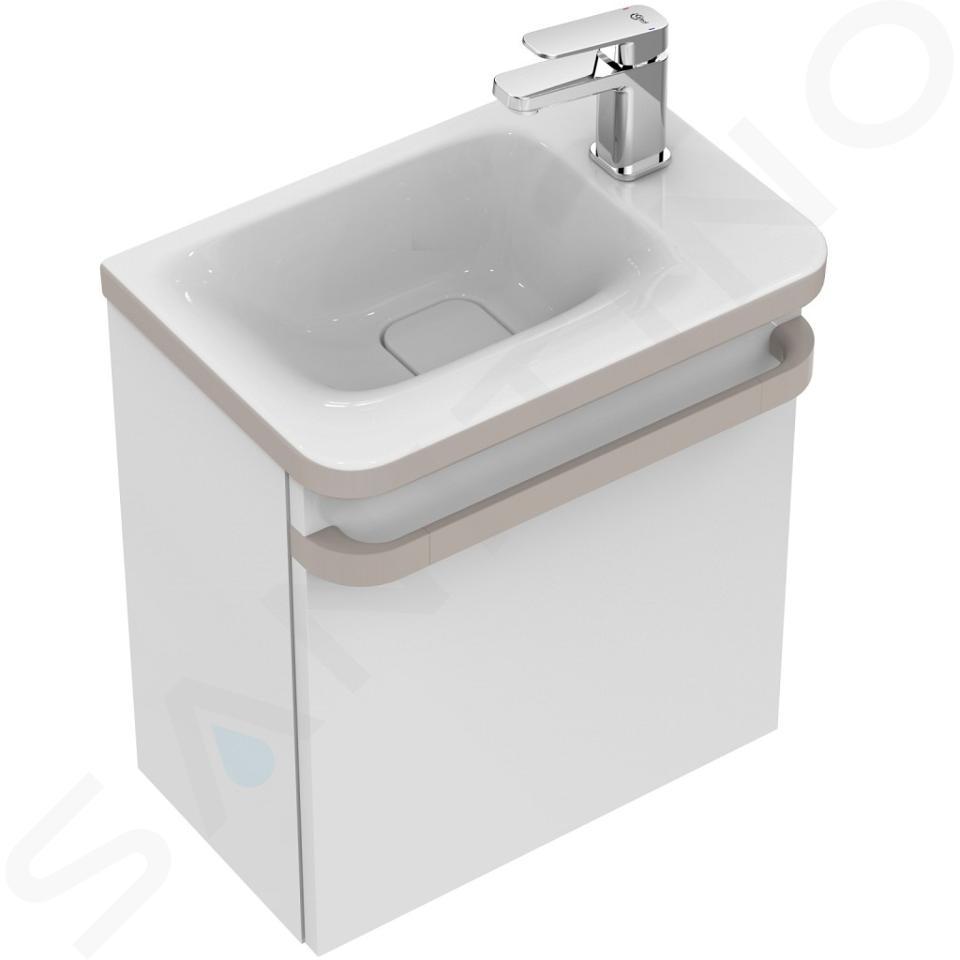 Ideal Standard Tonic II - Lave-mains 460x310x145 mm, avec un trou pour mitigeur à droite, blanc K086701