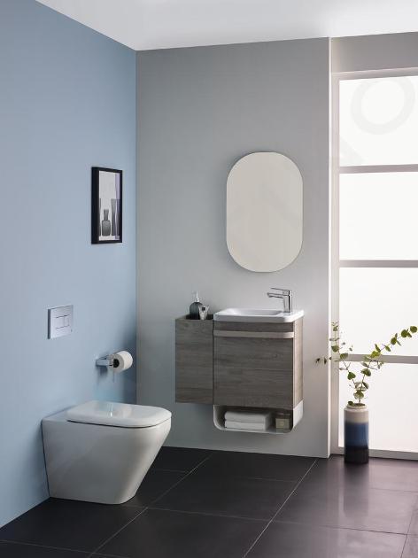 Ideal Standard Tonic II - Lavamani 460x310x145 mm, con 1 foro per miscelatore a destra, bianco K086701