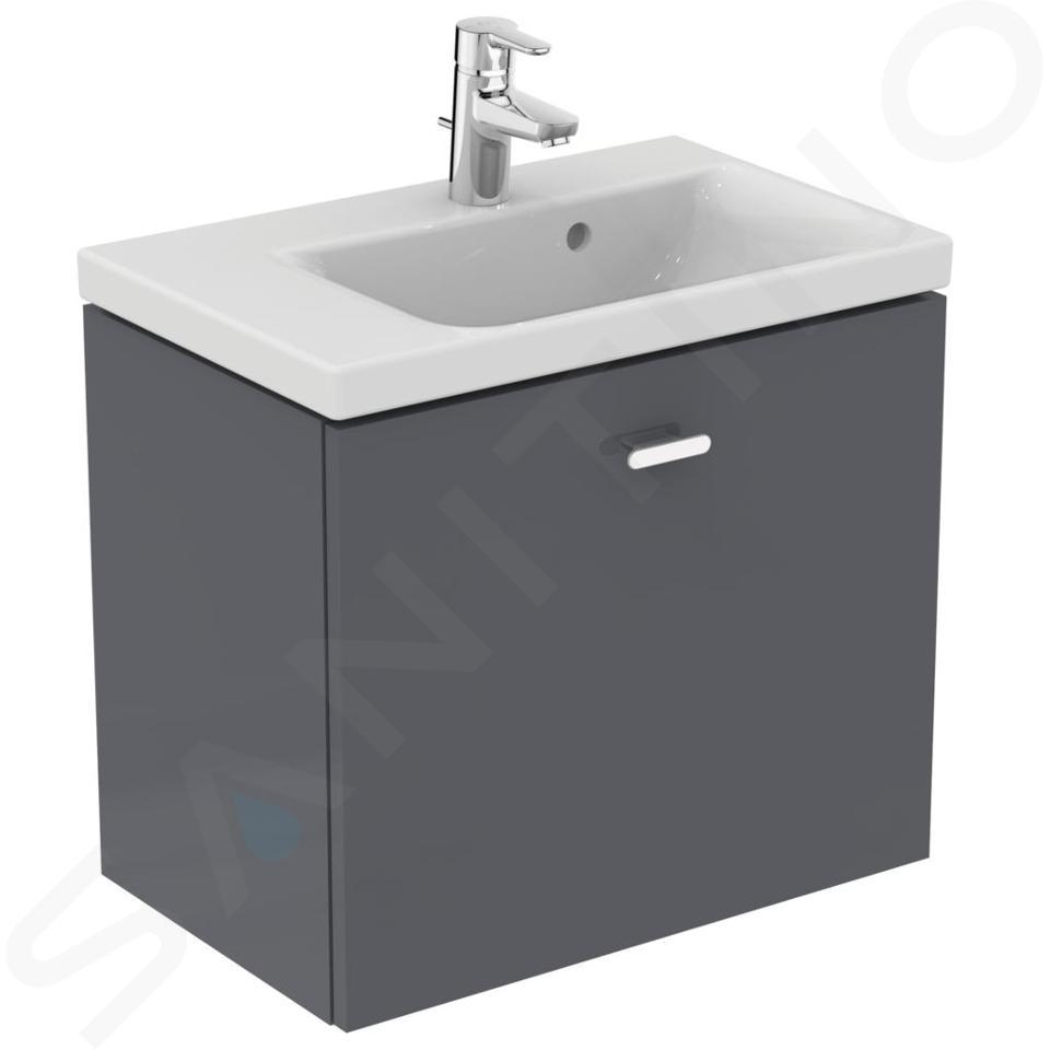 Ideal Standard Connect Space - Wastafel 600x380x175 mm, 1 kraangat, wit E132501