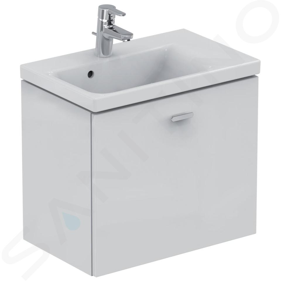 Ideal Standard Connect Space - Lavabo 600x380x175 mm, un trou pour mitigeur, blanc E132601