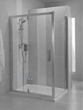 Ideal Standard Synergy - Sprchové dveře 1200 mm, lesklá stříbrná/čiré sklo L6364EO