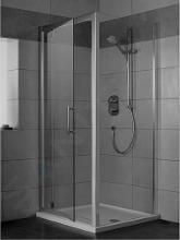 Ideal Standard Synergy - Sprchové dvere pivotové 80 cm, silver bright (lesklá strieborná) L6361EO