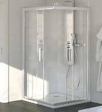 Ideal Standard Synergy - Sprchový kút štvorcový 1000x1000 mm, lesklá strieborná/číre sklo L6377EO