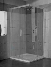 Ideal Standard Synergy - Sprchový kout 900x900 mm, lesklá stříbrná/čiré sklo L6374EO