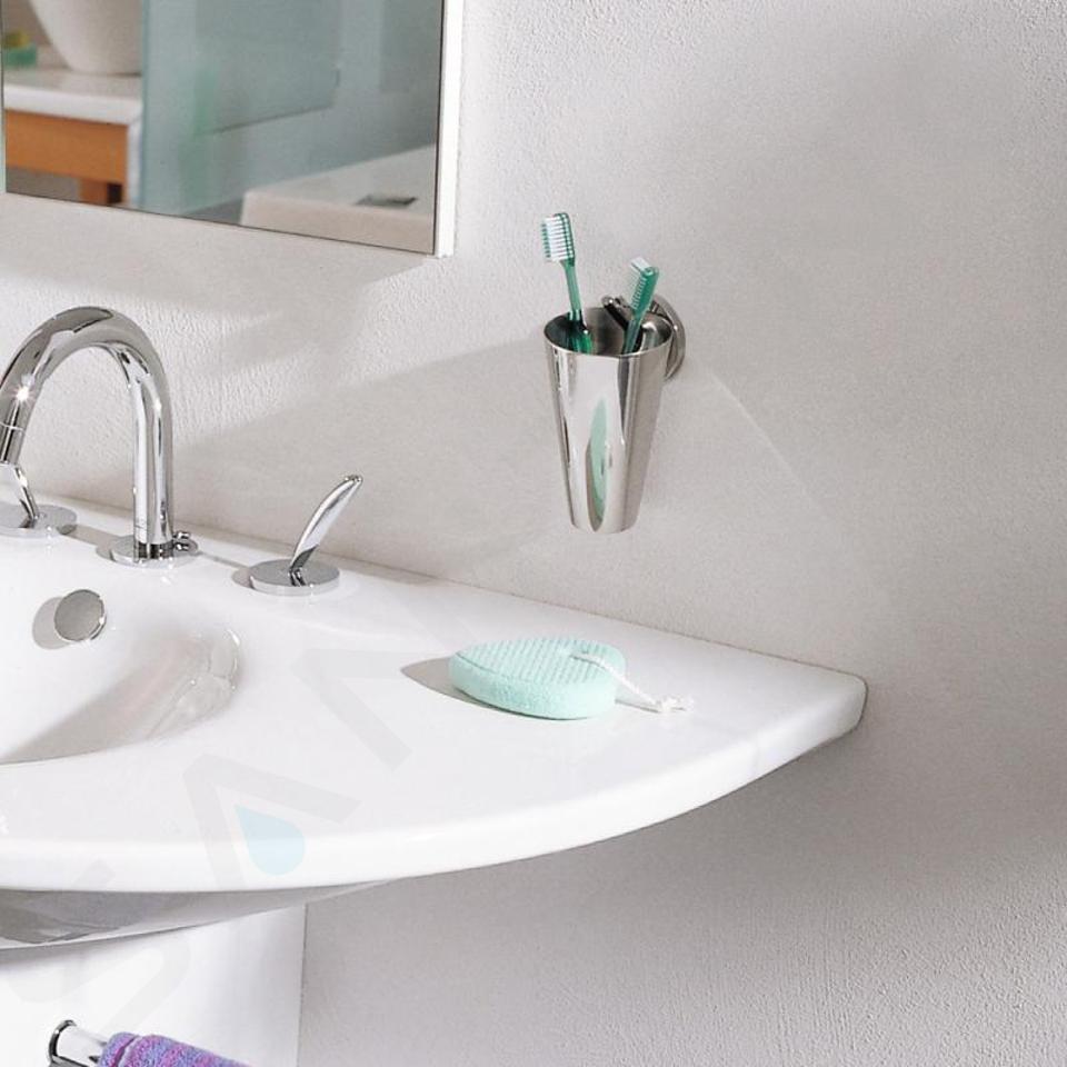 Axor Starck - Nádobka na ústní hygienu, chrom 40834000