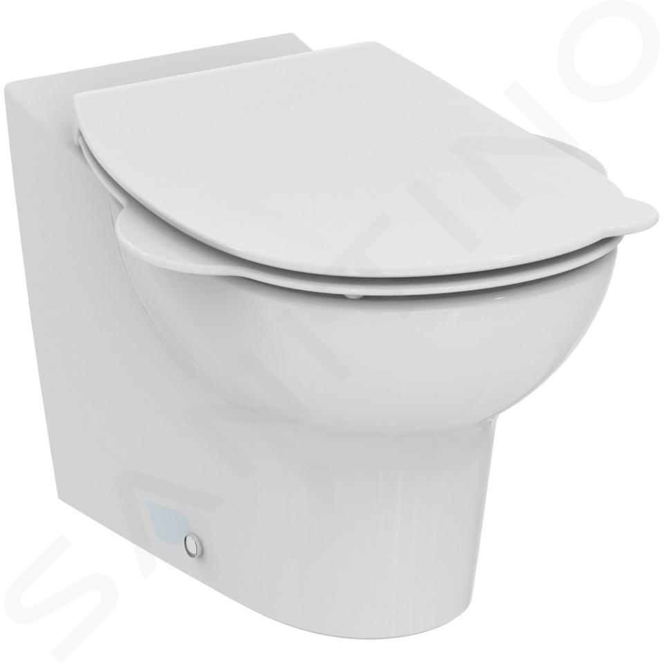 Ideal Standard Contour 21 - Staand kindertoilet, afval aan de achterkant, Rimless, wit S312301