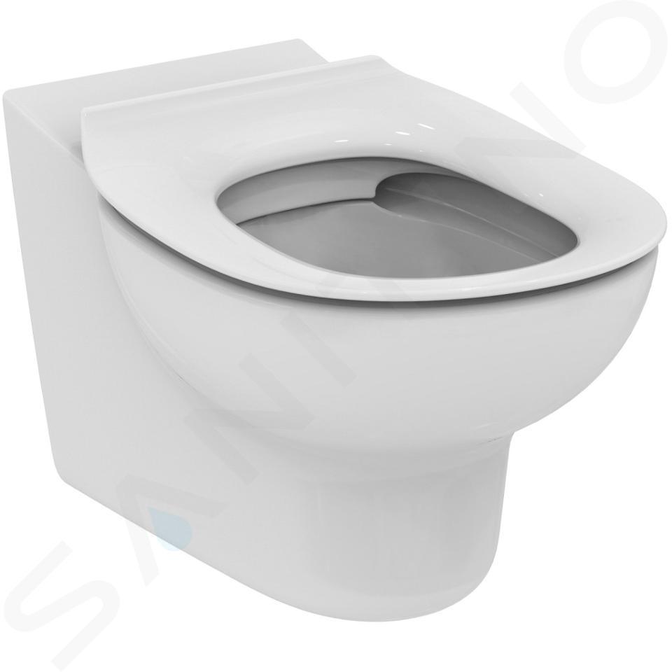 Ideal Standard Contour 21 - WC enfant suspendu, Rimless, blanc S312801
