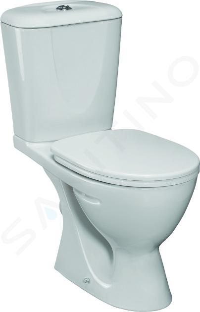 Ideal Standard Eurovit - WC combi avec réservoir, évacuation arrière, blanc W903401