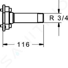Hansa Bluebox - Preplachovacia zátka 59914185