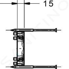 Hansa Bluebox - Obrátený adaptér k podomietkovému systém 59914184