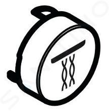 Hansgrohe Příslušenství - Tlačítko proudu Whirl, bílá 92575450