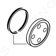 Hansgrohe Príslušenstvo - Podložka pod sprchovú tyč k Croma 100 Showerpipe, chróm 95239000