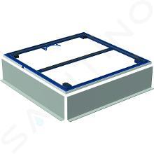 Geberit Setaplano - Instalační rám pro sprchové vaničky, 900x900 mm, pro 4 nohy 154.470.00.1