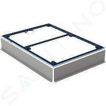 Geberit Setaplano - Instalační rám pro sprchové vaničky, 900x1200 mm, pro 6 nohou 154.473.00.1
