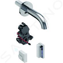 Geberit Piave - Elektronická umývadlová batéria pod omietku – bez zmiešavača, napájanie z generátora, chróm 116.285.21.1