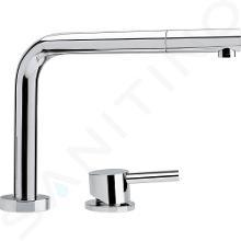 Franke Robinetterie - Mitigeur de lavabo FN 7483.031 rabattable, chrome 115.0486.978