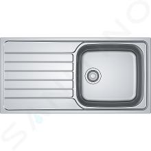 Franke Spark - Spülbecken SKX 611-100, 1000x500 mm, Edelstahl 101.0504.059