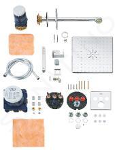 Grohe Grohtherm SmartControl Perfect - Sprchová súprava s termostatom pod omietku, 310 mm, chróm 34706000