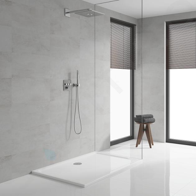 Grohe SmartControl Perfect - Inbouw doucheset, 310 mm, 2 stralen, chroom 34712000