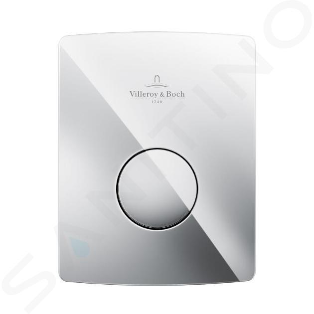 Villeroy & Boch ViConnect - Urinal-Betätigungsplatte, pneumatisch U 100 - Chrom 92194461