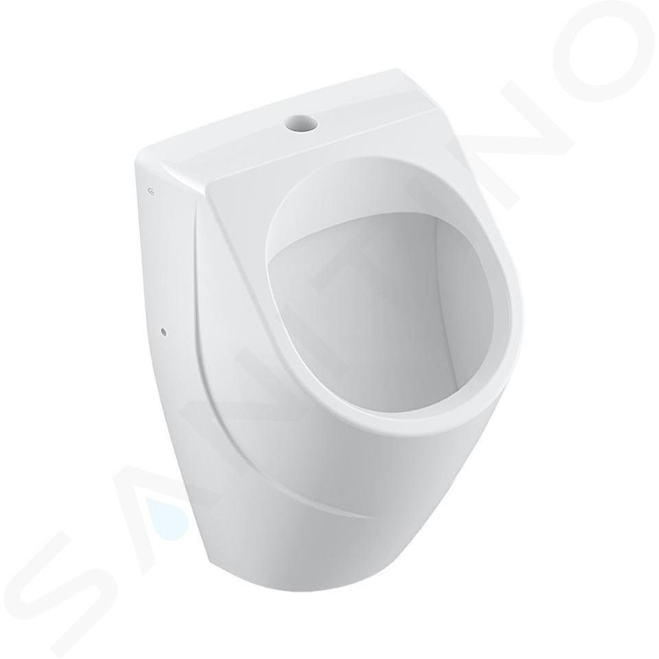Villeroy & Boch O.novo - Urinale ad aspirazione, 335 x 560 x 320 mm - con CeramicPlus, bianco alpino 752300R1