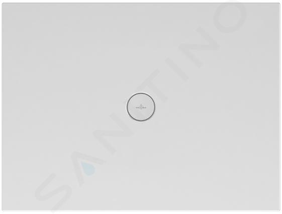 Villeroy & Boch Subway Infinity - Keramická sprchová vanička 1500x900x40 mm, Sinus Black 623234VPD1
