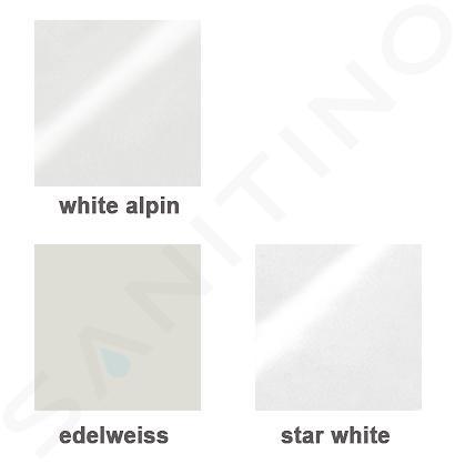 Villeroy & Boch Finion - Vasque sans trop-plein, 600x445 mm, avec CeramicPlus, blanc alpin 414261R1