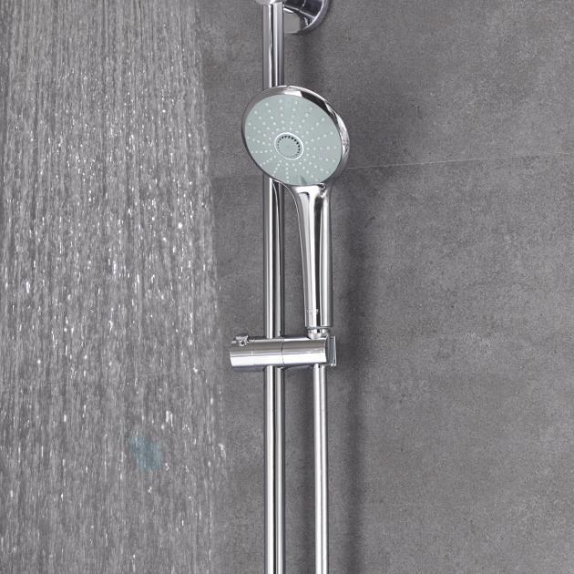 Grohe Euphoria - Set de douche avec mitigeur, 260 mm, chrome 27473001