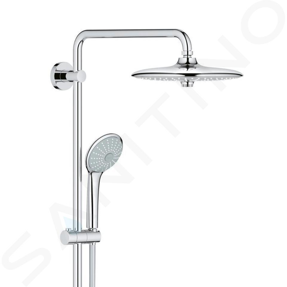 Grohe Euphoria - Doucheset met thermostatische douchekraan, 260 mm, chroom 27615001