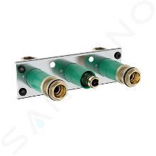 Hansgrohe Montážní tělesa - Základní těleso pro univerzální termostat ShowerTablet 600 13129180