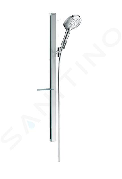 Hansgrohe Raindance Select S - Set de douche 120, 3 jets, barre de douche 900 mm, chrome 27648000