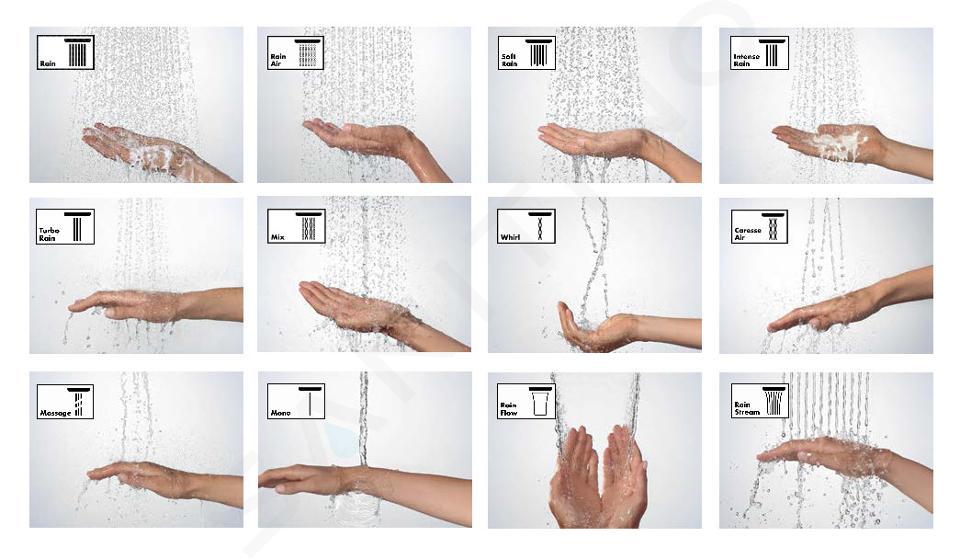 Hansgrohe Raindance Select S - Glijstangset Select 120, 3jet, glijstang 900 mm, wit/chroom 27648400