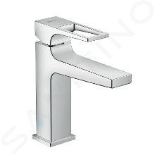 Hansgrohe Metropol - Mitigeur de lavabo 110 avec garniture de vidage à tirette, chrome 74506000