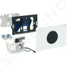 Geberit Sigma10 - Ovládacie tlačidlo SIGMA10, bezdotykové, napájanie z batérie, biela/lesklý chróm/biela 115.908.KJ.1