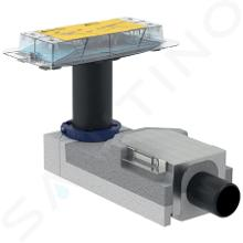 Geberit CleanLine - Súprava na hrubú montáž sprchového kanálika, na podlahy 90mm – 200mm, odpad 50 mm 154.150.00.1