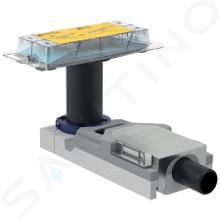 Geberit CleanLine - Ruwbouwset douchegoot, inbouwhoogte 65-90 mm, afvoer 40 mm 154.152.00.1