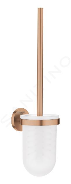 Grohe Essentials - Toilettenbürstengarnitur, Warm Sunset gebürstet 40374DL1