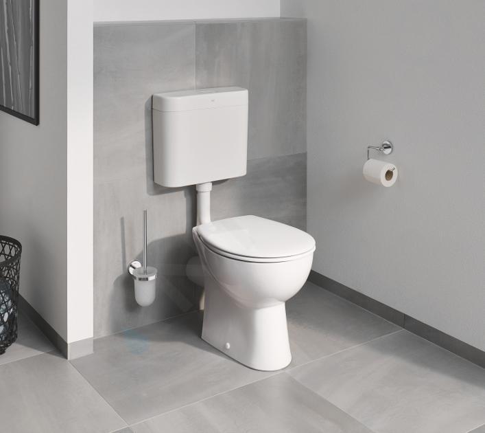 Grohe Bau Ceramic Sedile Wc Con Chiusura Softclose Duroplast Bianco 39493000 Sanitino It