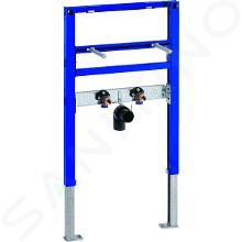 Geberit Duofix - Installationselement für Waschtisch, 82–98 cm, für Einlocharmaturen 111.485.00.1