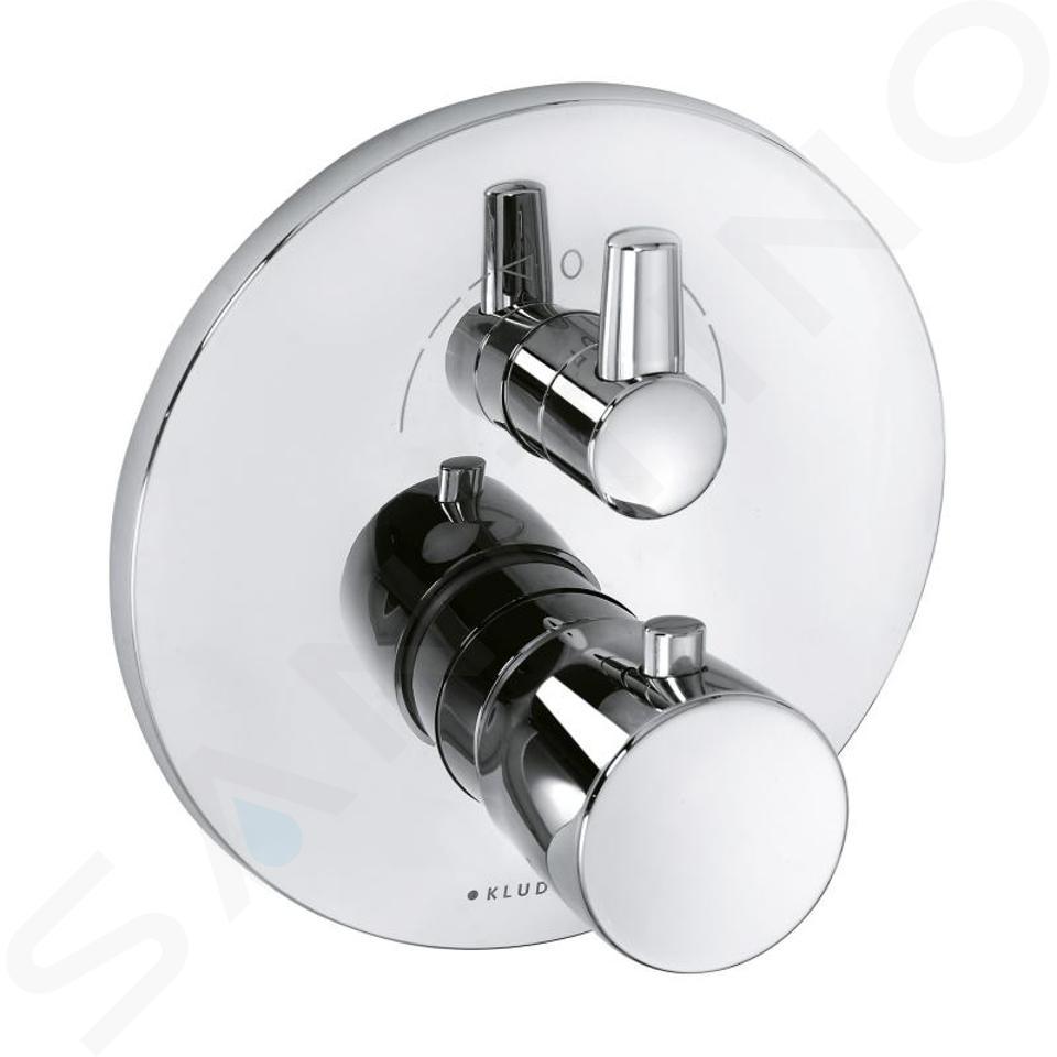 Kludi Balance - Thermostat-Wannenarmatur - Unterputz, chrom 528300575