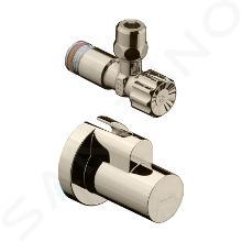 Hansgrohe Rohové ventily - Rohový ventil s krytkou, kefovaný nikel 13954820