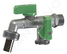 """Sapho Arco - Záhradný ventil, dva vývody 3/4"""" NANO DOUBLE MAC"""