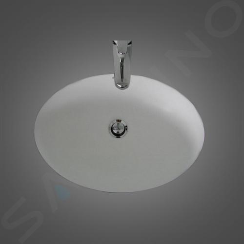Laufen Lipsy - Vestavné umyvadlo, 565x410 mm, bílá H8112990000001