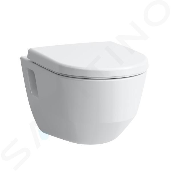 Laufen Pro - Hangend toilet, 530x360 mm, Rimless, wit H8209640000001